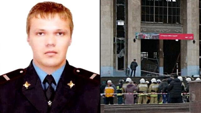 """""""Bohater z Wołgogradu"""". Objął terrorystę tuż przed wybuchem, tłumiąc siłę eksplozji"""
