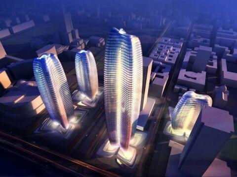 Zaha Hadid przygotowała w 2014 r. projekt wieżowca dla Warszawy