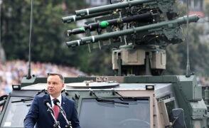 Prezydent: wydatki na wojsko powinny wzrosnąć do 2,5 procent PKB do 2024 roku