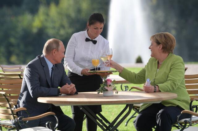 Syria, Ukraina, Nord Stream 2. Putin z wizytą u Merkel