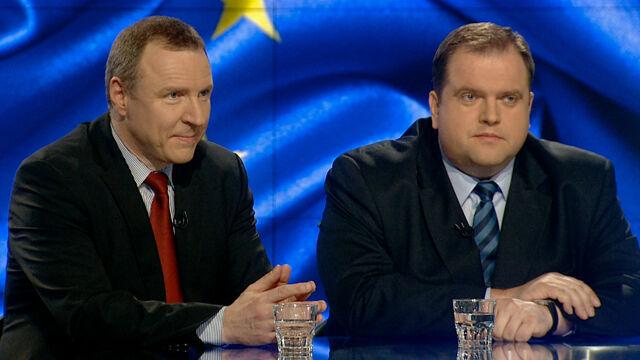"""Gośćmi """"Faktów po Faktach"""" byli Jacek Kurski i Paweł Piskorski"""