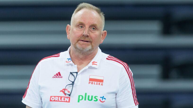 Jacek Nawrocki nie jest już trenerem reprezentacji Polski siatkarek