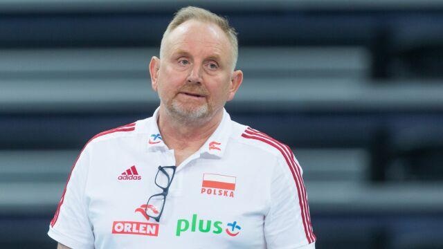 Jacek Nawrocki zrezygnował. Reprezentacja Polski siatkarek bez selekcjonera