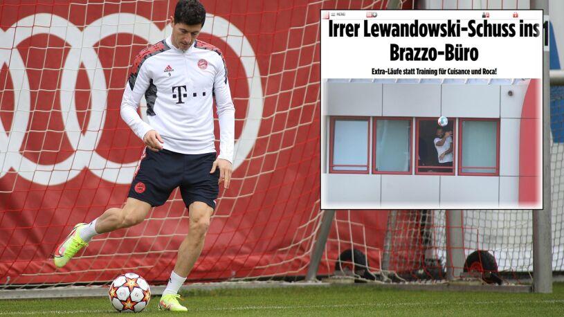 """Lewandowski strzela w okno dyrektora. """"Dobrze, że przetrwał nowy ekspres"""""""