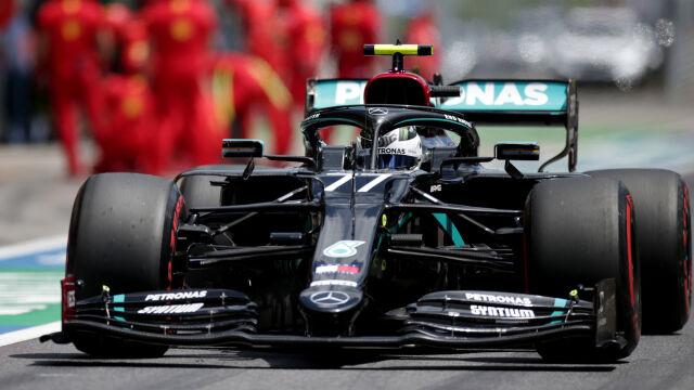 Mercedes nie miał sobie równych w kwalifikacjach. Wpadka Ferrari