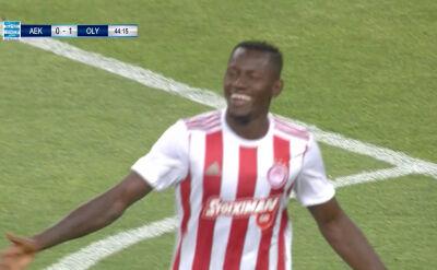 Olympiakos pokonał AEK Ateny w 30. kolejce ligi greckiej