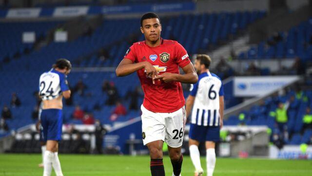 Show młodego Greenwooda. Manchester United wygrał w Brighton