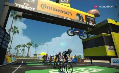 Stephens wygrała 2. etap Wirtualnego Tour de France