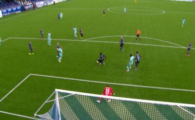 Liga norweska. Kristiansund - Molde 1:1 (gol Etzaz Hussain)