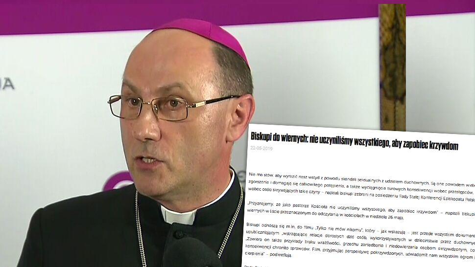 """""""Nie ma słów, aby wyrazić nasz wstyd"""". Biskupi o pedofilii w Kościele"""