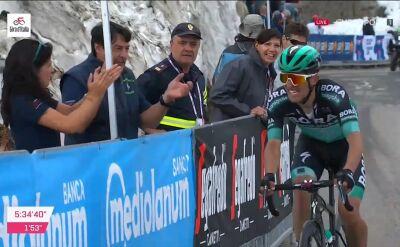 Majka odjechał faworytom na 13. etapie Giro d'Italia
