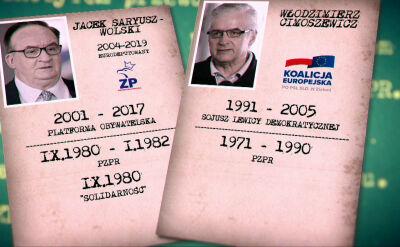 Jacek Saryusz-Wolski i Włodzimierz Cimoszewicz. Co ich poróżniło?