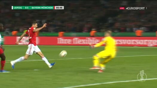 Finał Pucharu Niemiec: drugi gol Roberta Lewandowskiego