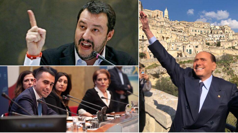 Kandydaci Salviniego i Di Maio prowadzą, Berlusconi zaskakuje