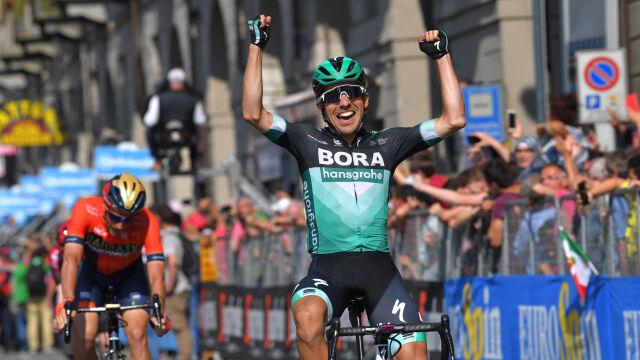 Wielki skok Majki w Giro. Życiowy sukces jego kolegi