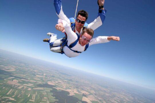 Adam Hofman spadochroniarz