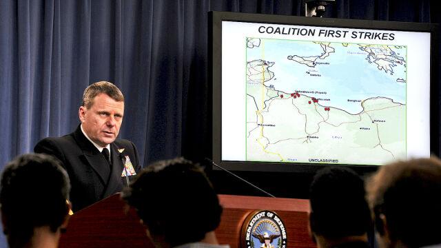 Przemówienie przedstawiciela Pentagonu, wiceadmirała Williama Gortney'a (TVN24, defense.gov)