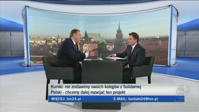 Kurski o liście Ziobry do Kaczyńskiego (TVN24)