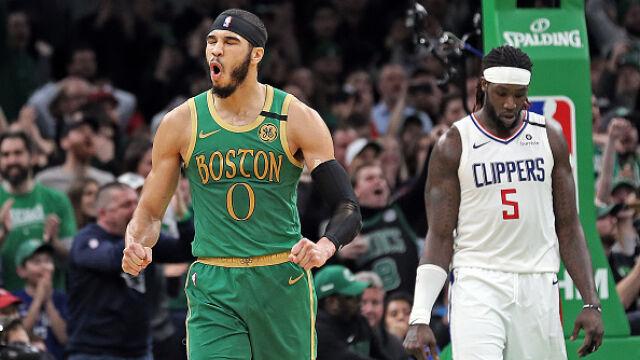 Zacięty mecz w Bostonie. Celtics wygrali po dwóch dogrywkach