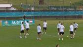 Przygotowania Austrii do meczu z Włochami w 1/8 finału Euro 2020