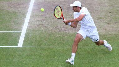 Drugie zwycięstwo Majchrzaka w kwalifikacjach Wimbledonu. Żuk poza turniejem