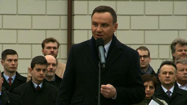 Prezydent: w Polsce to my jesteśmy ludźmi pierwszej kategorii, mamy prawo decydować