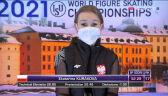 Odległa pozycja Kurakowej w programie krótkim w MŚ w łyżwiarstwie figurowym