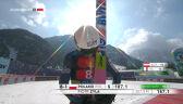 Skok Żyły z 1. serii konkursu drużynowego w Planicy