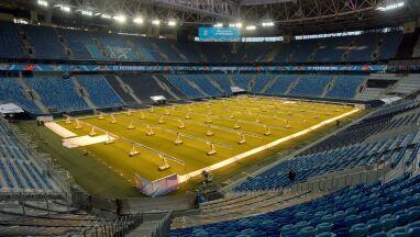 Rosyjski stadion otwarty dla kibiców w trakcie Euro.
