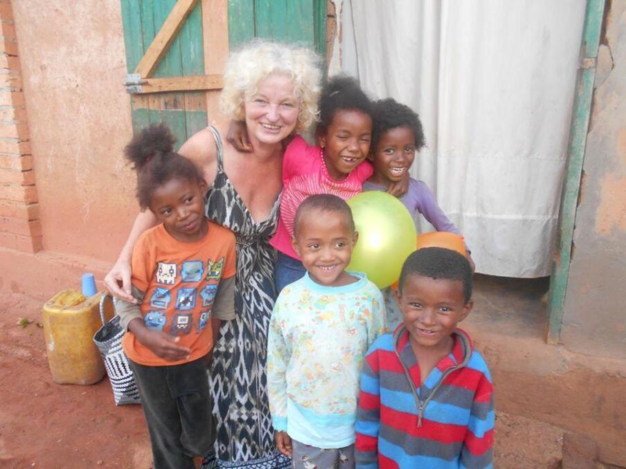 Elżbieta Drygas na Madagaskarze