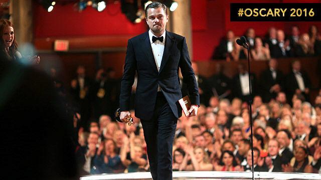 """""""Nie bierzmy naszej planety za pewnik"""". DiCaprio wygrywa i dziękuje. To koniec memów?"""