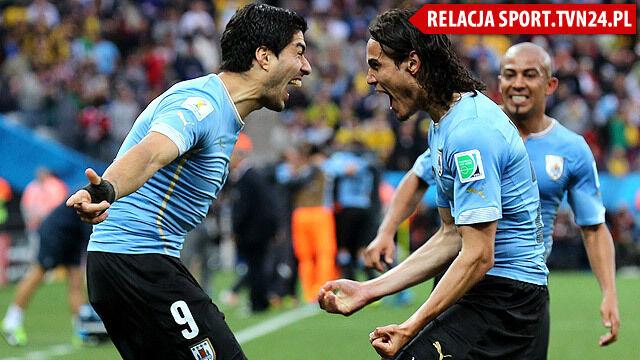 05e678c4a Podwójnie genialny Suarez. Urugwaj pokonał Anglię w