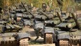 Jeden z konwojów przy granicy z Ukrainą