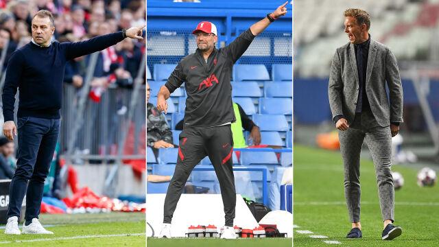 Niemieccy trenerzy zdominowali klubowy futbol. Powalczą o prestiżową nagrodę UEFA