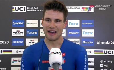 Ganna po triumfie w jeździe indywidualnej na czas w mistrzostwach świata