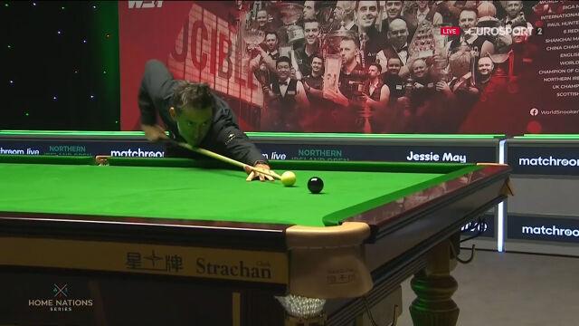 Pierwsza sesja finału Northern Ireland Open zakończona setką O'Sullivana