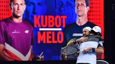 Pożegnalny mecz Kubota i Melo. Wygrali na otarcie łez i się rozeszli