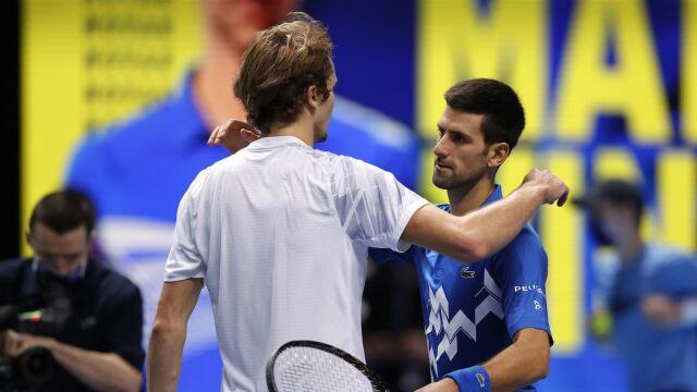 Djoković zameldował się w półfinale ATP Finals