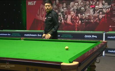 Ding awansował do drugiej rundy Northern Ireland Open