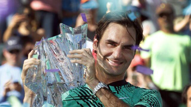"""Federer wciąż czaruje. """"Roger, jestem twoim największym fanem"""""""