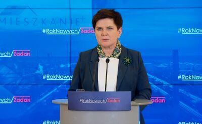Premier o wypadku szefa MON: wszystkich obowiązują te same przepisy