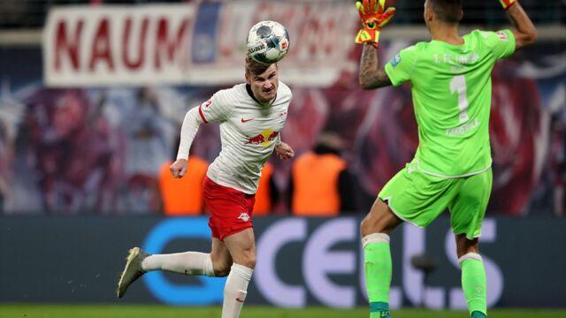 Gikiewicz nie zatrzymał lidera Bundesligi. Werner wyprzedził Lewandowskiego