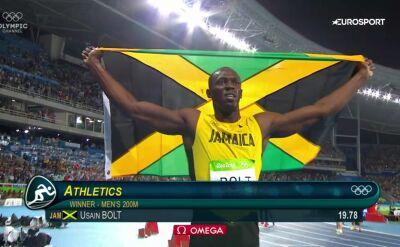Od Pekinu do Rio de Janeiro. Wszystkie olimpijskie finały Usaina Bolta