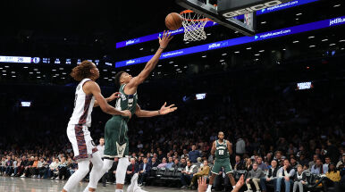 Grek znów zachwycił w NBA, Milwaukee ciągle wygrywa