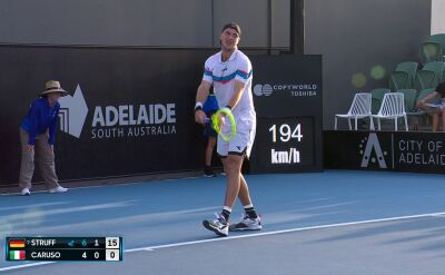 Struff awansował do drugiej rundy turnieju ATP w Adelajdzie