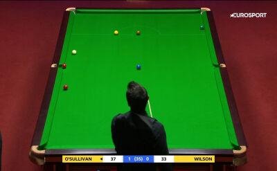 Świetne wbicie O'Sullivana w finale mistrzostw świata