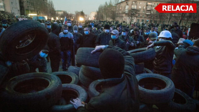 W Doniecku jednostki specjalne odbijają siedzibę SBU. W Mikołajowie szturm