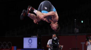 Okrzyk radości i salto medalisty. Zasłużona euforia Michalika