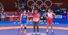 Tokio. Zasina przegrała w ćwierćfinale w zapasach w stylu wolnym