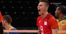 Tokio. Szalona akcja z 2. seta meczu Brazylia – Rosyjski Komitet Olimpijski w półfinale